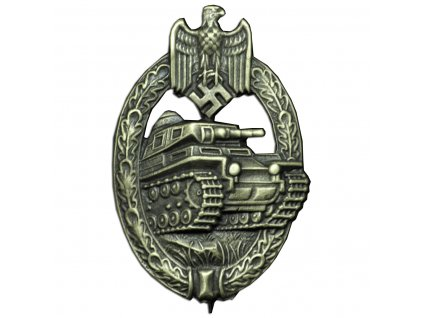 panzer badge in bronze producer assmann