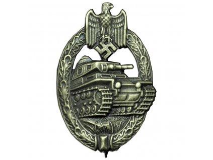 panzer badge in bronze producer assmann