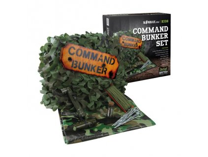 Set JUNIOR dětský bunkr COMMAND