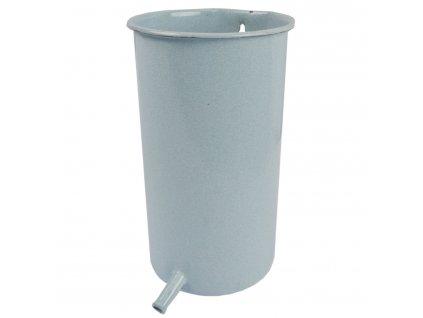 Nádržka s vývodem závěsná smaltovaná pro irigační soupravu-klistýr