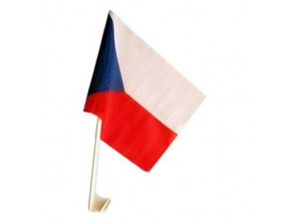 Vlajka na auto ČESKÁ REPUBLIKA 27x45cm