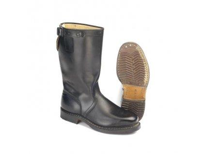 Boty vysoké kožené BW Knobelbecher použité