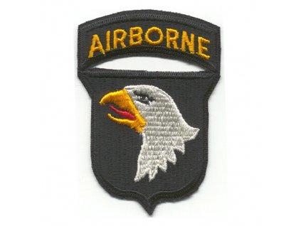 """Nášivka US 101 AIRBORNE """"křičící orli"""""""