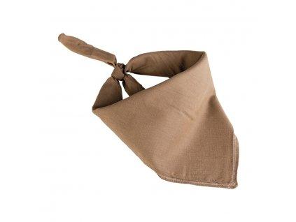 Šátek čtyřcípý 55x55 cm COYOTE