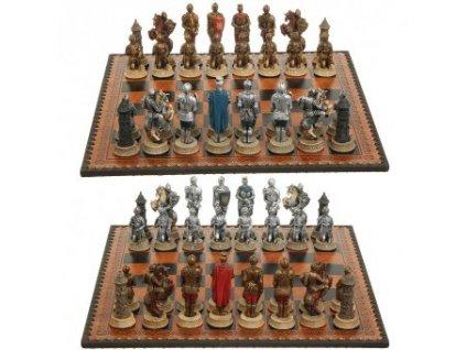 Šachové figurky Rytíři ve zbroji
