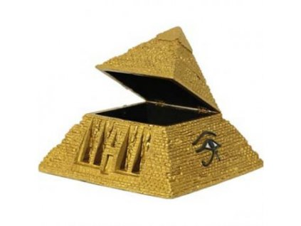 Soška pyramidy s úložným prostorem