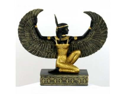 Egyptská bohyně Maat, soška
