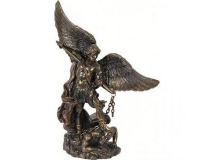 Archanděl Michael s mečem, soška
