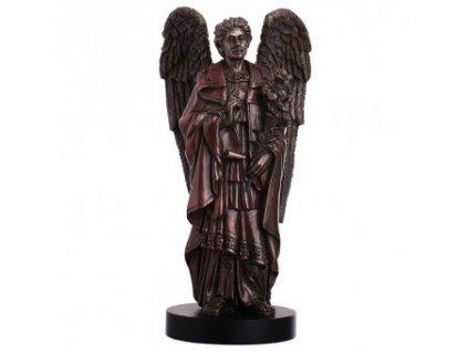 Soška anděla archanděla Gabriela zvěstujícího dobré zprávy 21cm