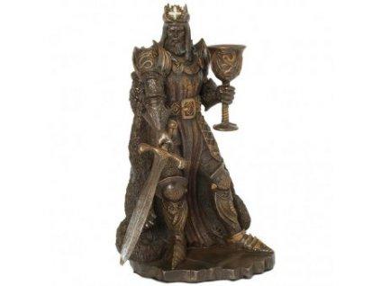 Král Artuš, soška