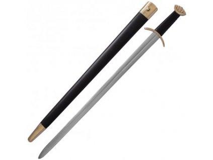 Dekorativní vikingský meč s pětilaločnou hlavicí