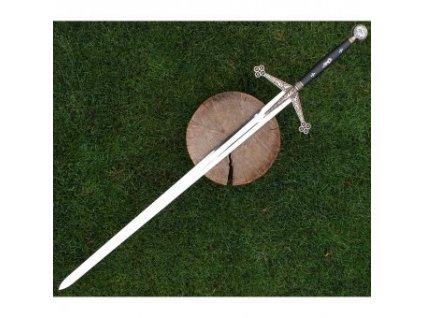 Dekorativní Claymore meč s plaketou