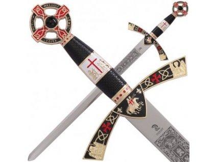 Templářský meč Baldwin, velikost kadet