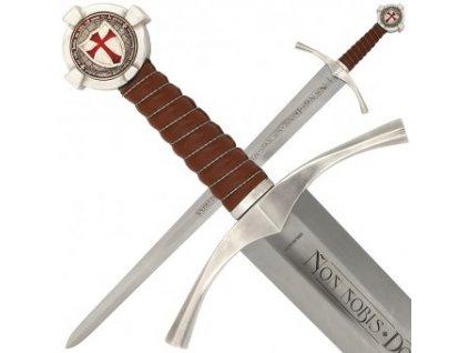 Templářský meč na pasování na rytíře