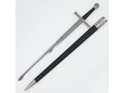 Jednoduchý Templářský meč s pochvou