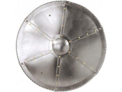 Kruhový štít klenutý nýtovaný