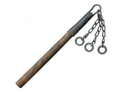 Biják s třemi řetězy s kroužky