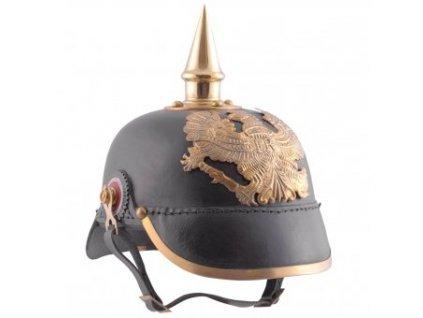 Pickelhaube pruské pěchoty 1889 kožená