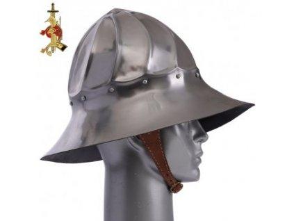Burgundský železný klobouk LoB, 15. století