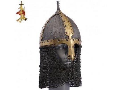 Ruská vikingská helma Gnězdovo typ II
