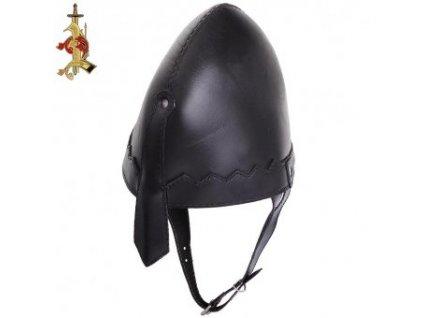 Dětská kožená helma Norman
