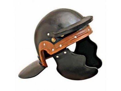 Římská kožená helma