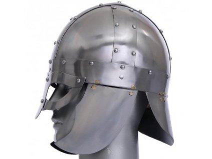 Vikinská brýlová helma