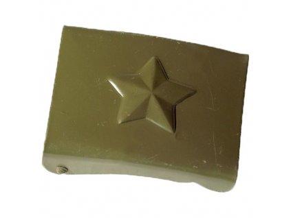 Přezka na opasek AČR s hvězdou