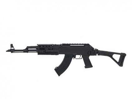 AK47 Tactical se sklopnou pažbou celokov (kovový mechabox) CM039U