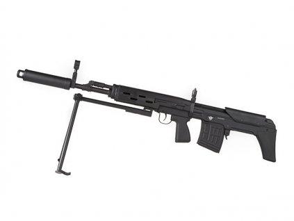 CM057 SVD-SVU/SWU Full Metal Bullpup Sniper Rifle AEG - černá