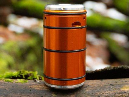 Airsoftový granát Epsilon, oranžový