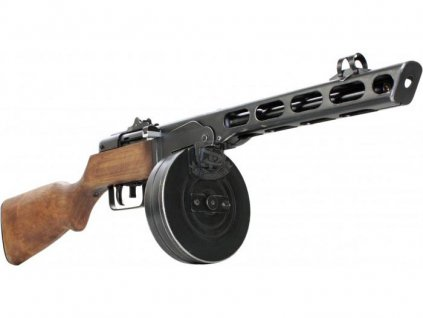 S a T PPSH-41, dřevo/kov (Electric Blowback)