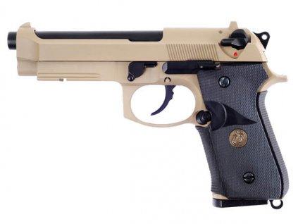 M9 A1 NAVY, písková, celokov, blowback