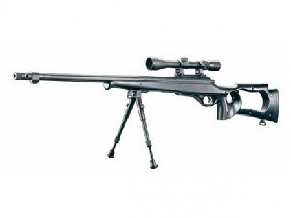 MB10D Sniper - černá plus optika plus dvojnožka