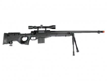 MB4403D plus optika a dvojnožka - černá