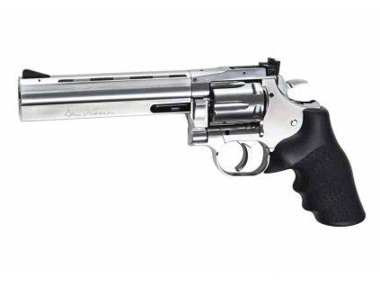 """Dan Wesson 715 - 6""""Revolver, stříbrný"""