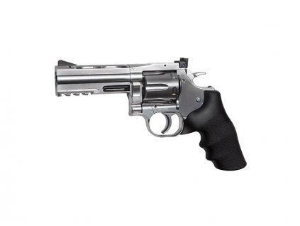 """Dan Wesson 715 - 4""""Revolver, stříbrný"""