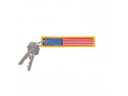 Klíčenka vlajka USA barevná