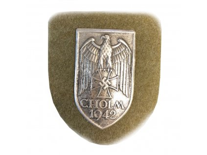 cholm 1942 battle shield
