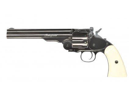 """Vzduchový revolver ASG Schofield 6"""" Šedá 4,5mm"""