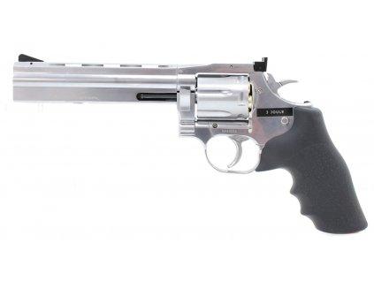 """Vzduchový revolver ASG Dan Wesson 715 6"""" Silver"""