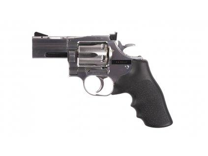 "Vzduchový revolver ASG Dan Wesson 715 2,5"" silver diabolky"