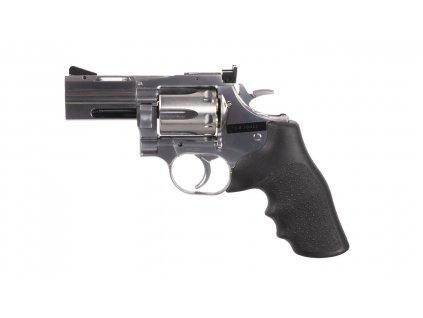 "Vzduchový revolver ASG Dan Wesson 715 2,5"" silver broky"