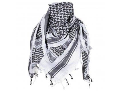 Šátek SHEMAGH BÍLO-ČERNÝ