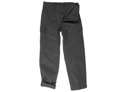 Kalhoty BW typ moleskin zateplené ČERNÉ