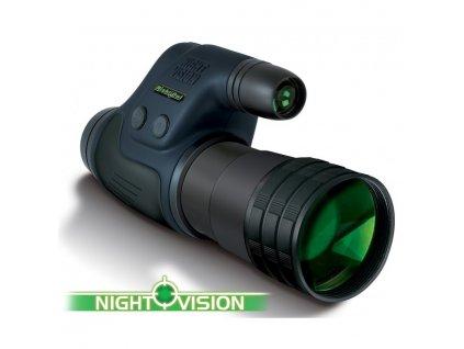 Noční vidění 4x monokulár ČERNÉ