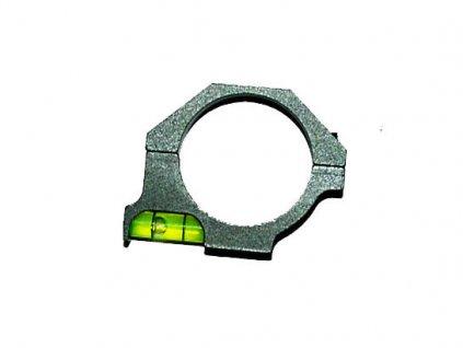 Kroužek 30mm s vodováhou pro optiky
