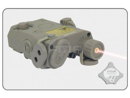 Box na baterii AN/PEQ15 plus červený laser, FG
