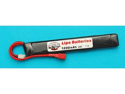 Baterie 7,4v 1200mAh (30C) Li-Pol