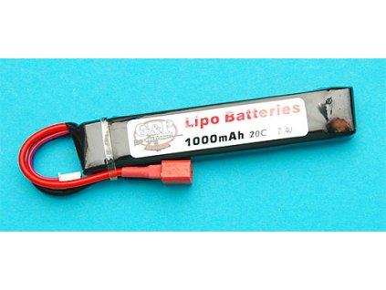Baterie 7,4v 1000mAh (20C) Li-Pol